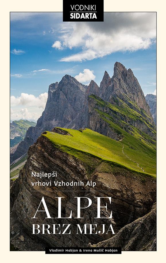 Knjiga Alpe brez meja
